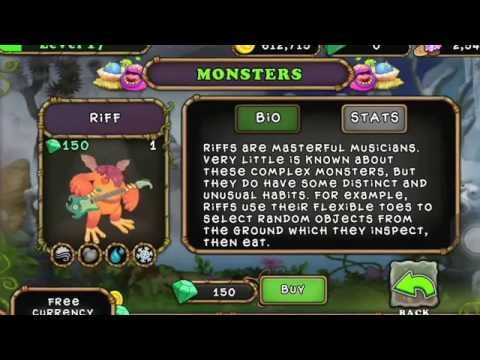 How to breed a riff in my singing monsters no lie