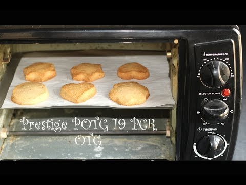 How to make Butter Cookies (eggless) using Prestige POTG 19 PCR OTG