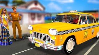 लालची Taxi Wala Hindi kahaniya - Traffic Rules Hindi moral stories -  Bedtime Panchatantra stories