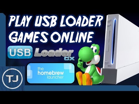 How To Play Wii USB Loader & WiiFlow ISO Games Online! (Multiplayer) 2017!