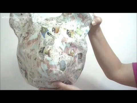 How To Make A Paper Mache Bear Head