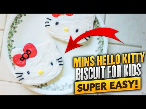 Hello Kitty Biscuit Recipe