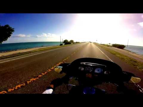 Fort Myers to Key West Ride on Harley StreetGlides + Snorkeling