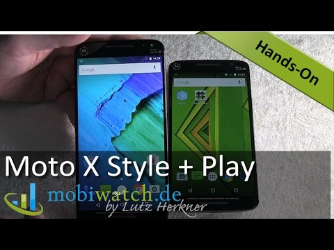 Zwillinge! Motorola überrascht mit Moto X Style + Play – Video-Test