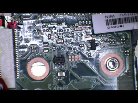 Lenovo laptop, no power, motherboard repair
