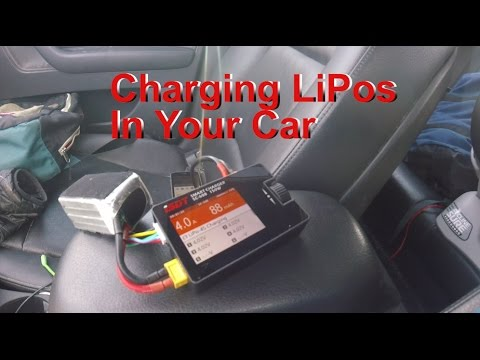 Charging LIPO batteries in your car