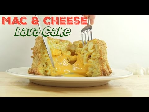 Easy Recipes: How To Make Homemade Mac and Cheese Lava Cake