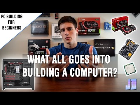 [2017] What Parts Go In a PC? FOR BEGINNERS - PC Guide