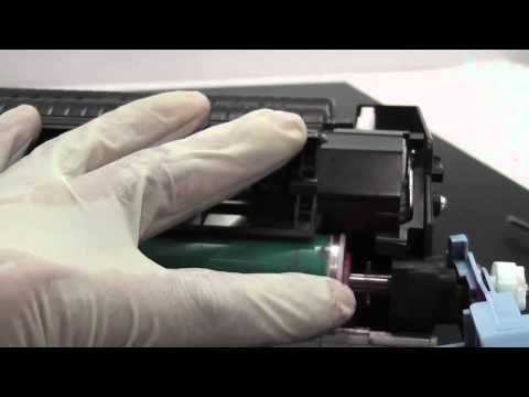 How to refill HP colorjet 5550