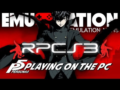 EMU-NATION: Persona 5 on PC with RPCS3 Emulator!