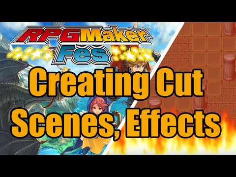 RPG Maker FES - Creating Cut Scenes, Animations, Subtitles Tutorial [Nintendo 3DS | NIS America]