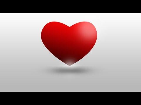 photoshop cs6/cc 3d heart logo photoshop tutorial