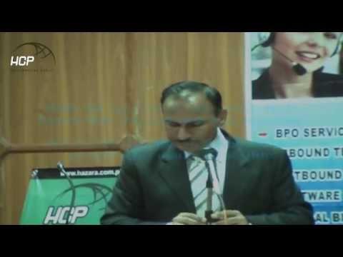 Abbottabad KPK IT park certificate distribution ceremony at Jalal Baba-