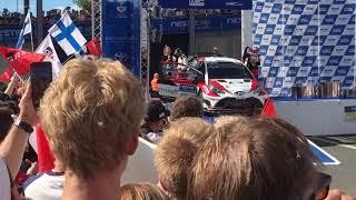 Neste Rally Finland 2017 WINNER Esa-Pekka Lappi