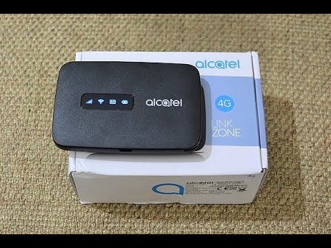 Vodafone 4G Hotspot  - Alcatel One Touch Link Unboxing & Review !