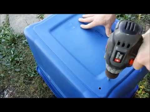 Making A Simple Compost Bin