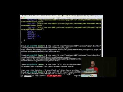 Miguel Grinberg - Is Your REST API RESTful? - PyCon 2015
