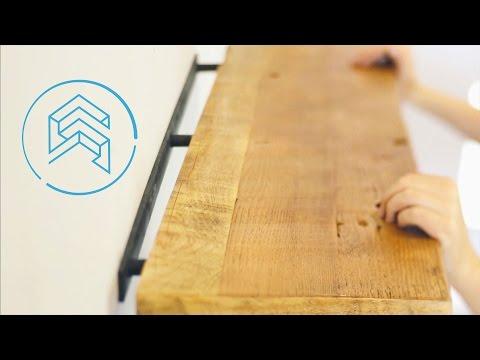 How to install floating shelves -- Shelfology Tutorial