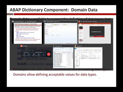 Intro to ABAP Dictionary 2/28/18