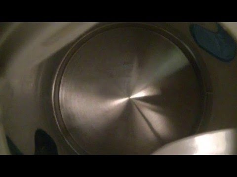 Descaling A Kettle With Vinegar