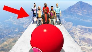 EXTREME HUMAN BOWLING! (GTA 5 Funny Moments)