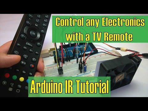 Control any Electronics with a TV Remote | Arduino IR Tutorial