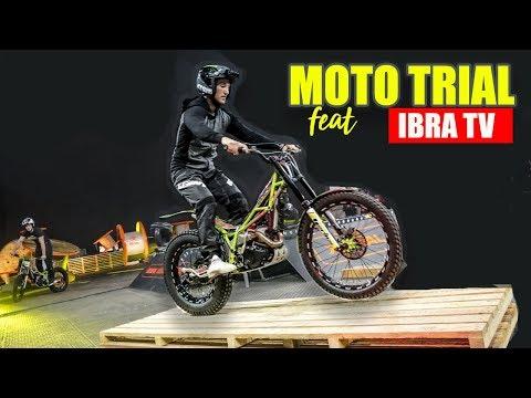 ON TESTE LA MOTO TRIAL AVEC IBRA TV - Qui sera le meilleur ?