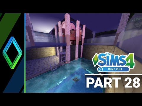 Sims 4 Dine Out Let's Play - Part 28