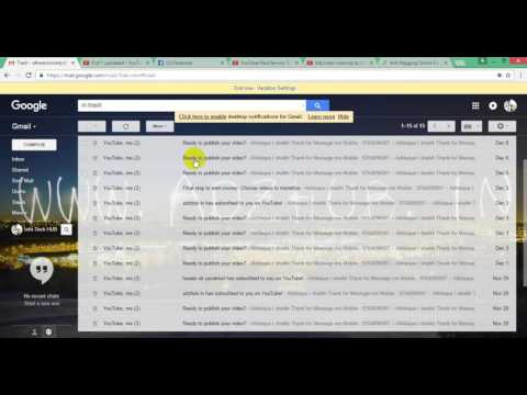 How to recover deleted mail from a Gmail account in hindi English
