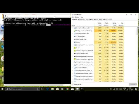 Angular steps || Installing the Angular CLI in Windows