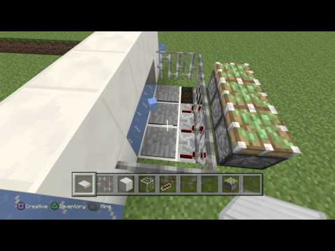 Minecraft: How to make a working ice hockey goal sensor