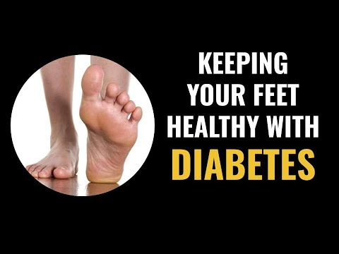 Keeping Your Feet Healthy With Diabetes