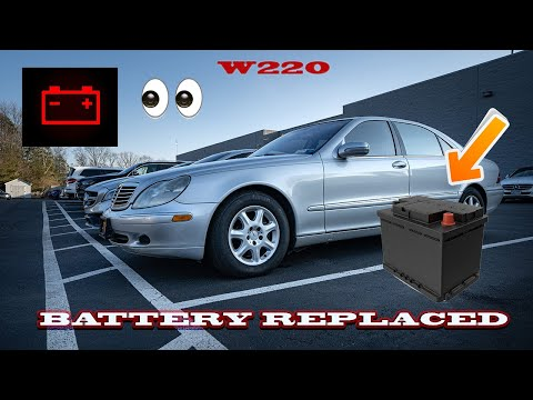 BENZWERKS S-CLASS (220) BATTERY REMOVAL