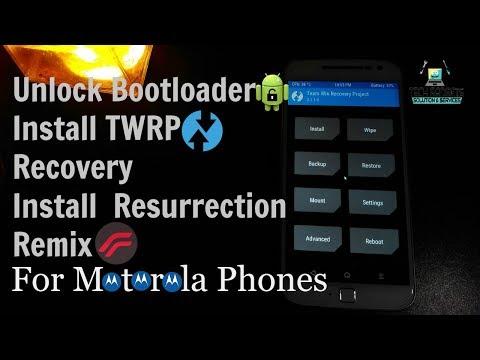 How to Unlock Bootloader of Motorola Phones(Install TWRP Recovery & Custom ROM) || Moto G4 Plus