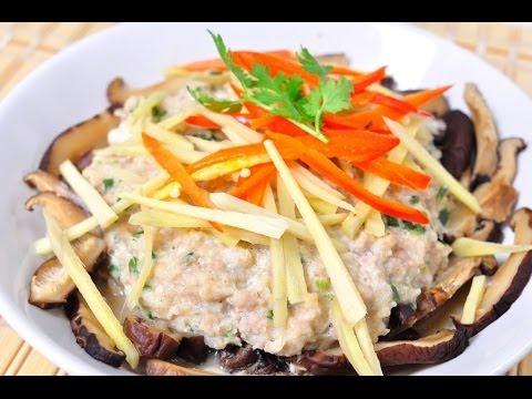 Thai Food - Steamed Minced Pork and Salted Fish (Moo Sub Pla Kem Nueng)