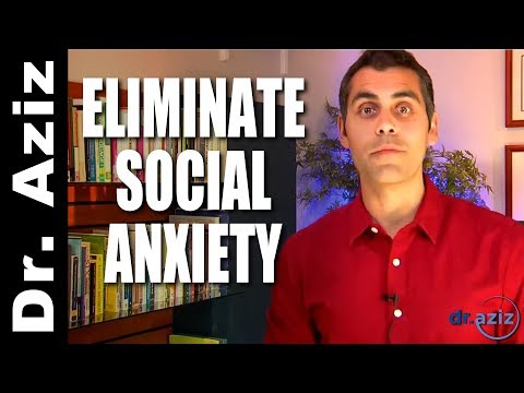 One Question To Eliminate Social Anxiety  | Dr. Aziz - Confidence Coach