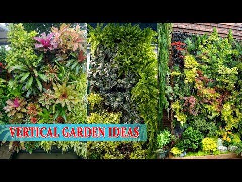 Wall Garden | Vertical Garden Ideas..