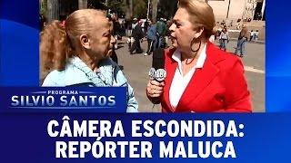 Câmera Escondida (18/12/16) - Repórter Maluca