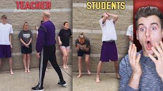 Kids Get Pepper Sprayed By Their Teacher!