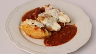 Homemade Stuffed Shells Recipe - Laura Vitale - Laura in the Kitchen Episode 450