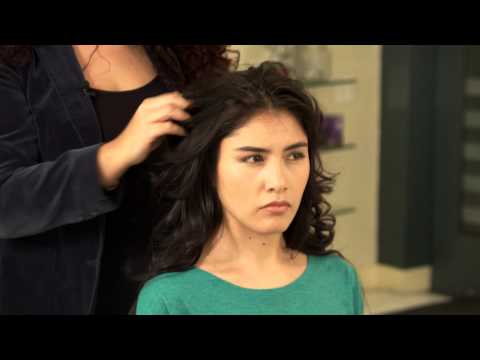 How to Cut a Long Shag Haircut : Brush, Curl & Style Hair