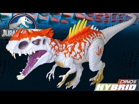 Opening: Hybrid Rampage INDOMINUS REX ~ Jurassic World Dino Hybrid Dinosaur Electronic Action Figure