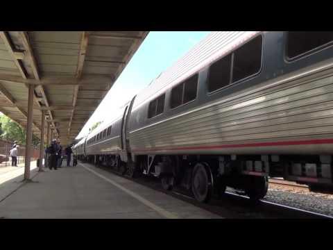 Amtrak Palmetto P090 Charleston SC 4 11 2016