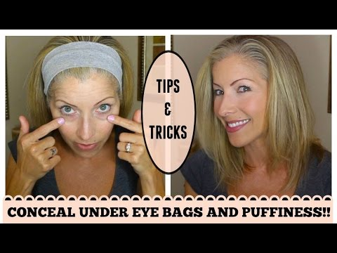 Look Younger! How to Conceal Under Eye Bags and Discoloration for Mature Skin