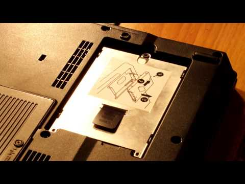 REMOVING HDD FROM HP LAPTOP