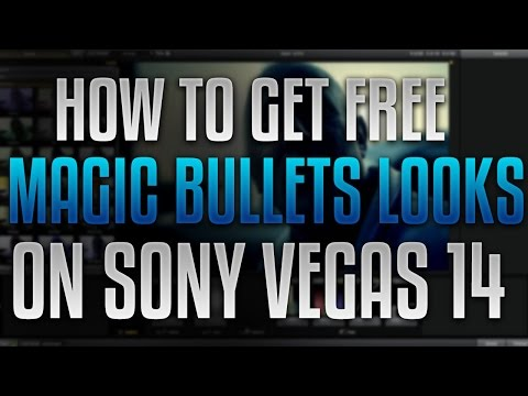 How To Get Magic Bullets Looks For Sony Vegas Pro [100% FREE] !
