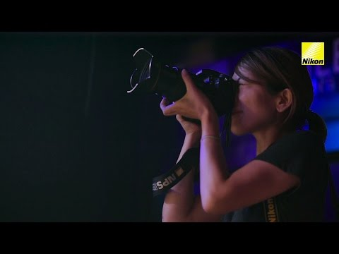 Shooting events with changing lighting, concert photography