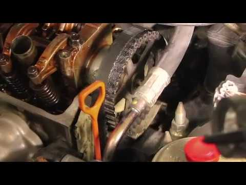 How to: Remove Timing Belt Honda Civic 97 - 99