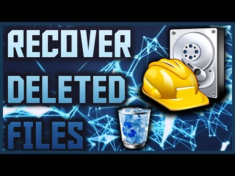How To Recover Deleted Files using Recuva | Recover Files Deleted From Recycle Bin 2016/2017