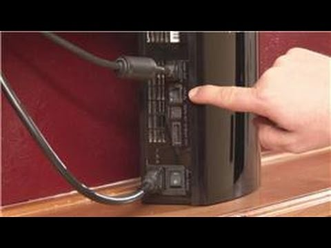 Playstation : How to Set Up WiFi & Ethernet for Playstation 3